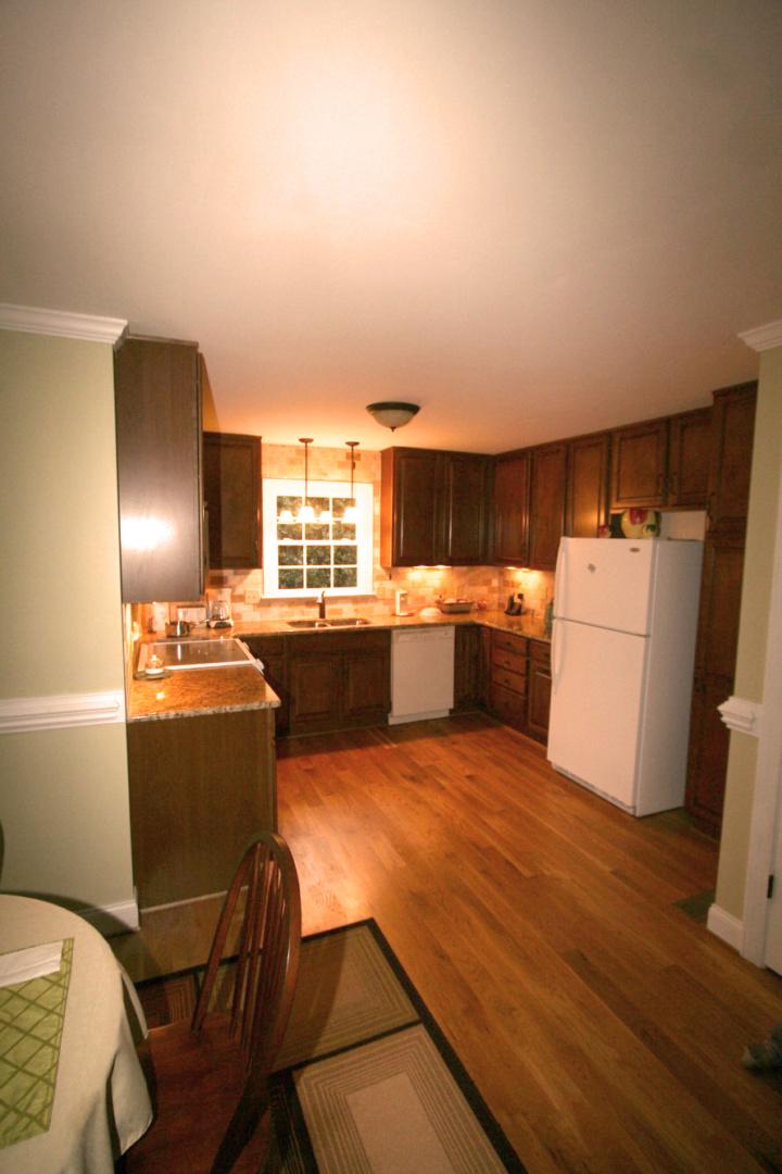 Deep Green Kitchen