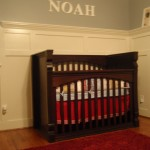 Baby's Crib Custom Built