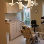 Water Damage Remediation and Renovation - Oral Surgery Exam Room