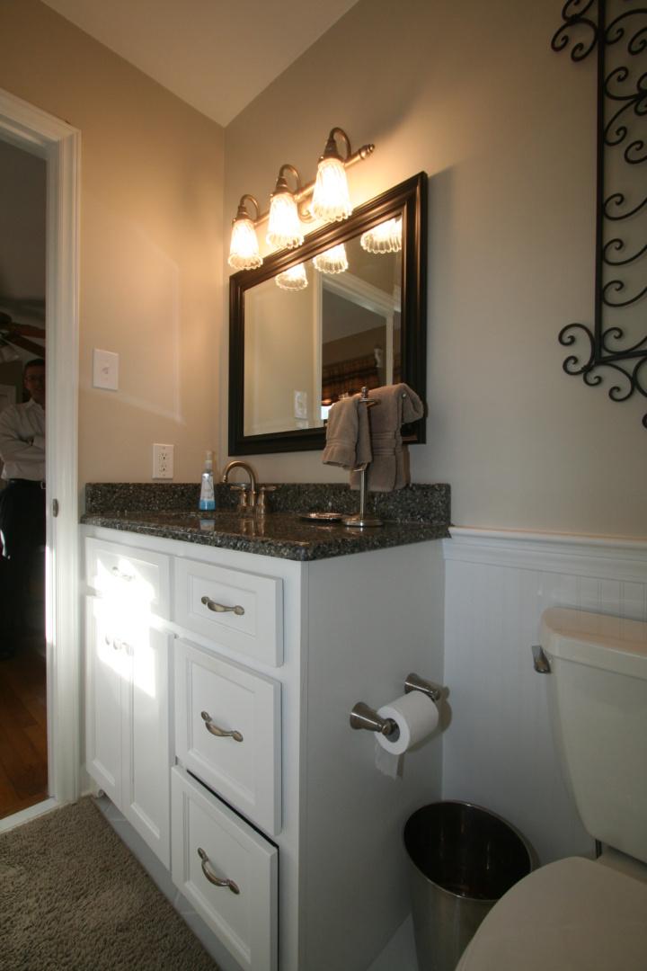 Lewis master bath vanity