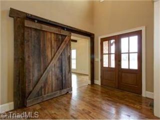 hanging barn door